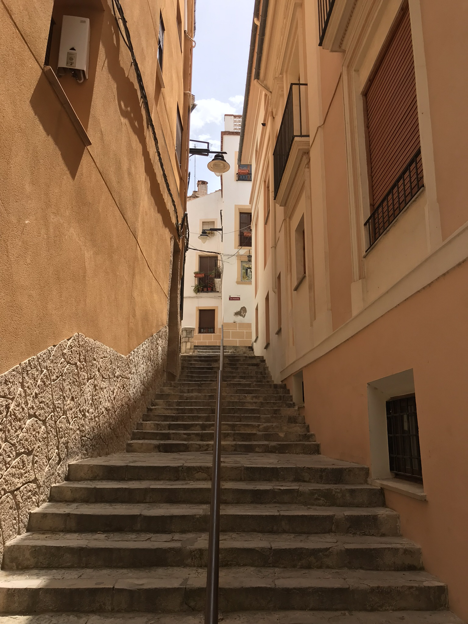 Spain 2018 Day 3 - Another stairway